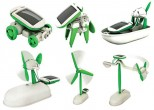 Solární stavebnice SolarBot skládačka Robot SolarKit 6 v 1