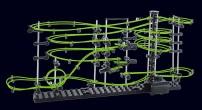 SpaceRail: Level 3 - svítící kuličková dráha 16m